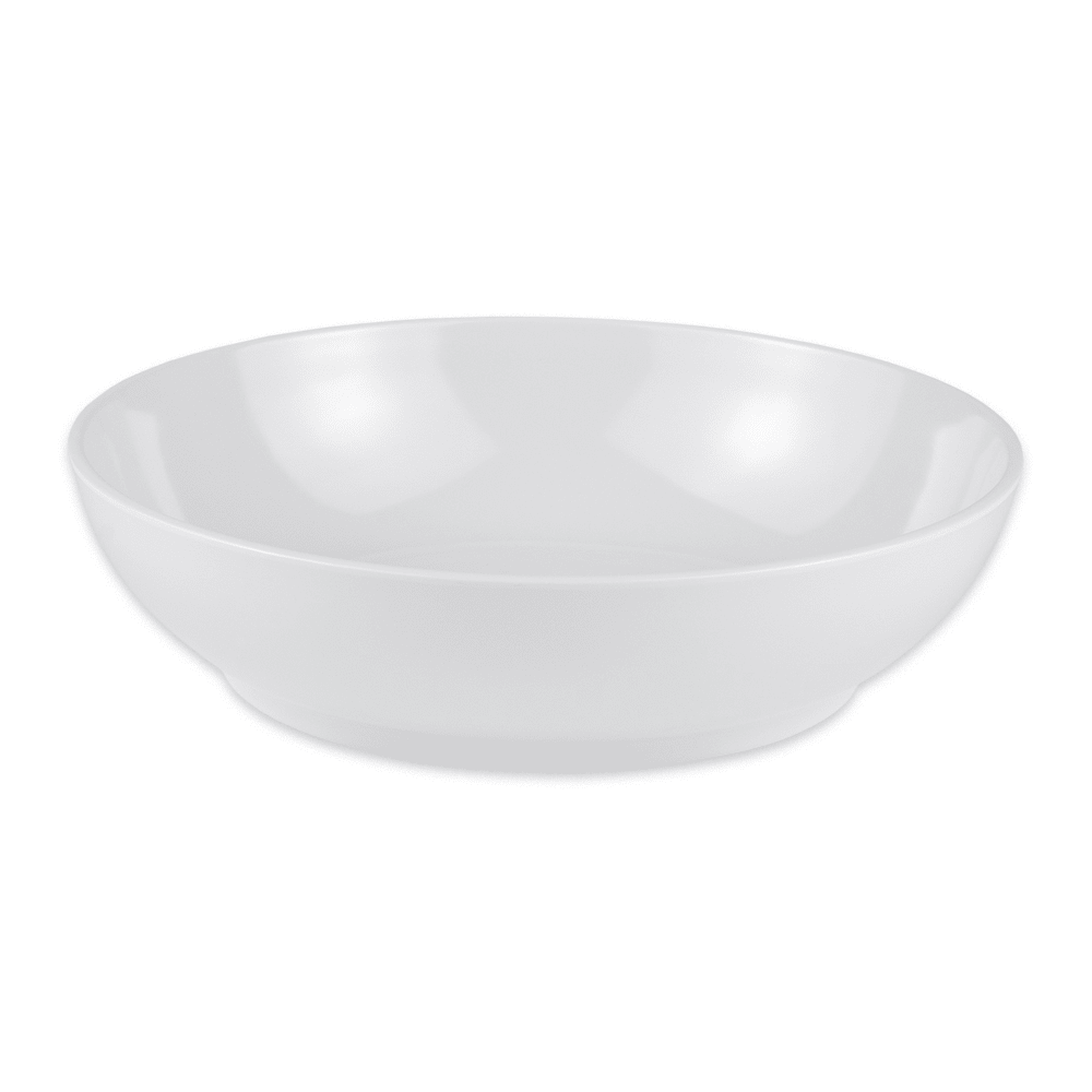 "GET CS-6106-W 8.5"" Round Pasta Bowl w/ 1.3 qt Capacity, Melamine, White"