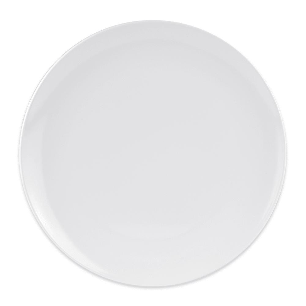 "GET CS-6108-W 14"" Round Dinner Plate, Melamine, White"