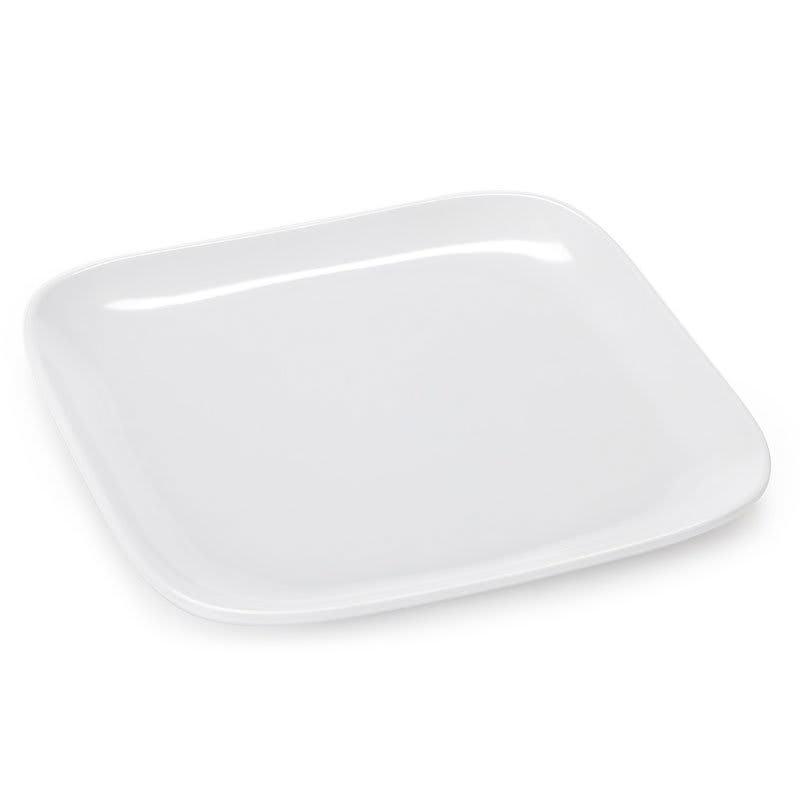"GET CS-6116-W 6"" Square Salad Plate, Melamine, White"