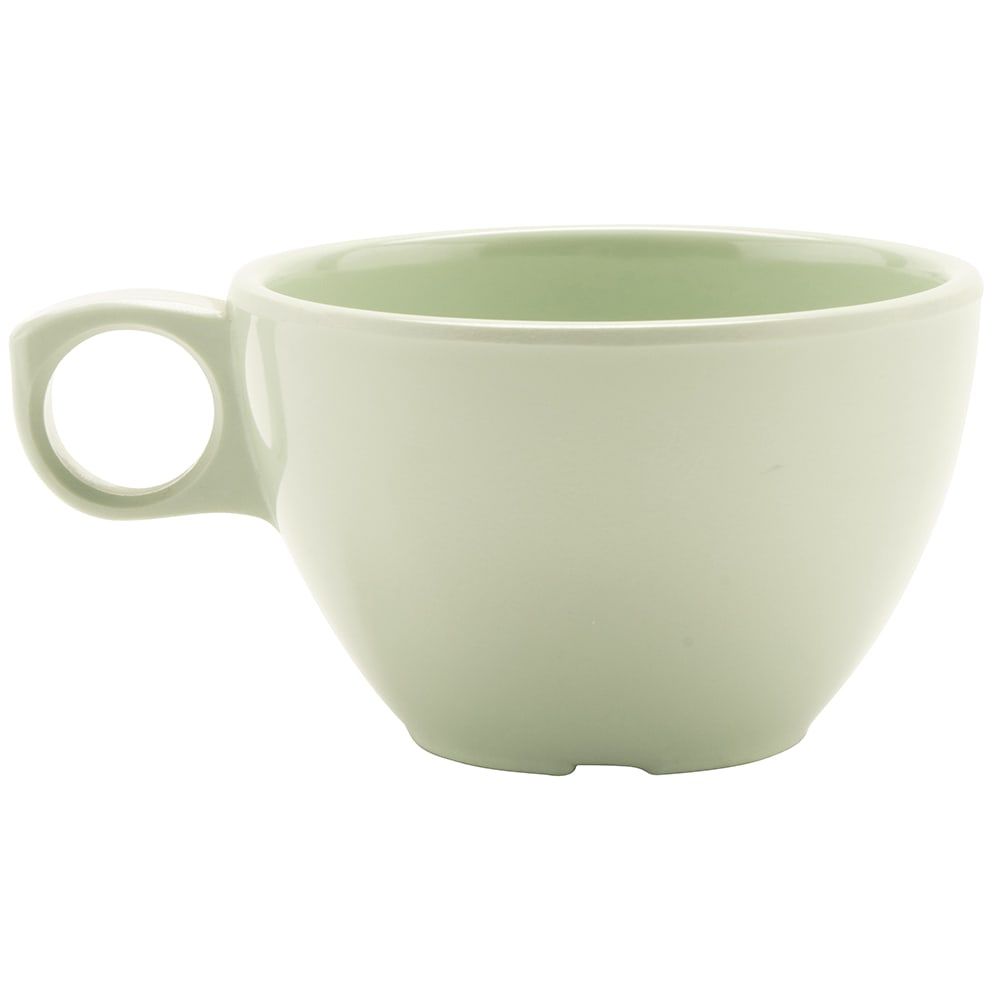 GET DC-100-G 7.5-oz Coffee Cup, Melamine, Green