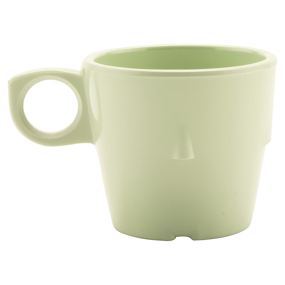 GET DC-101-G 7.5-oz Coffee Cup, Melamine, Green