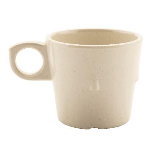 GET DC-101-IR 7.5-oz Coffee Cup, Melamine, Ironstone