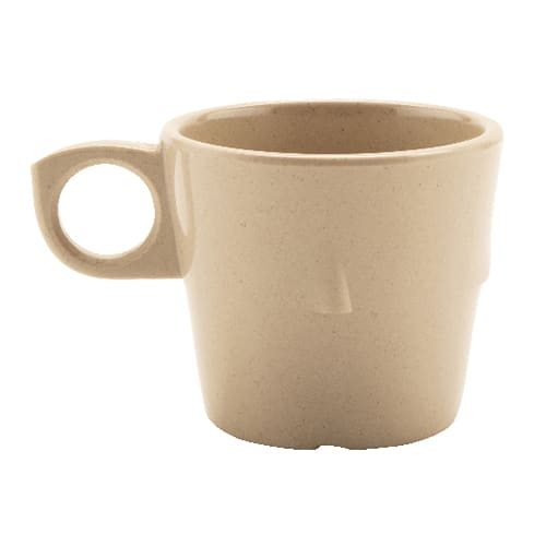 GET DC-101-S 7.5-oz Coffee Cup, Melamine, Sandstone