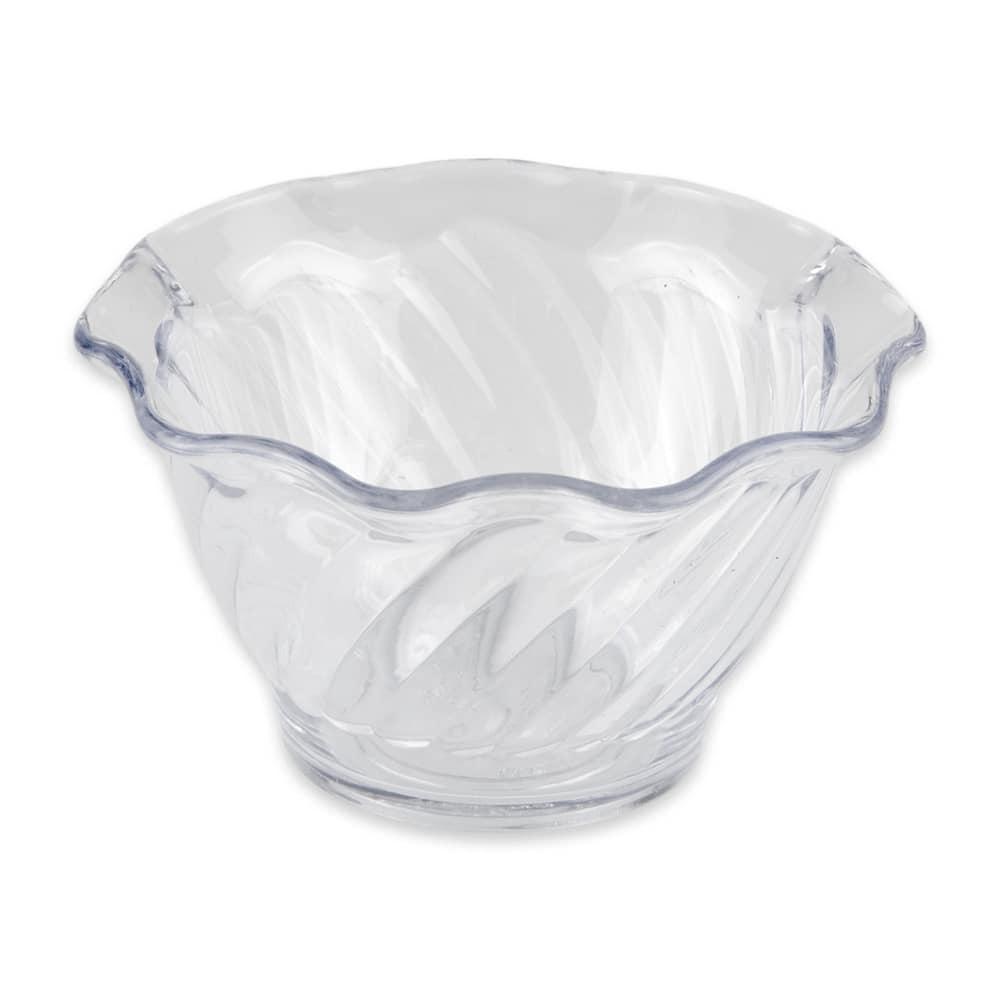 "GET DD-50-CL 3.75"" Round Dessert Dish w/ 5-oz Capacity, Plastic, Clear"