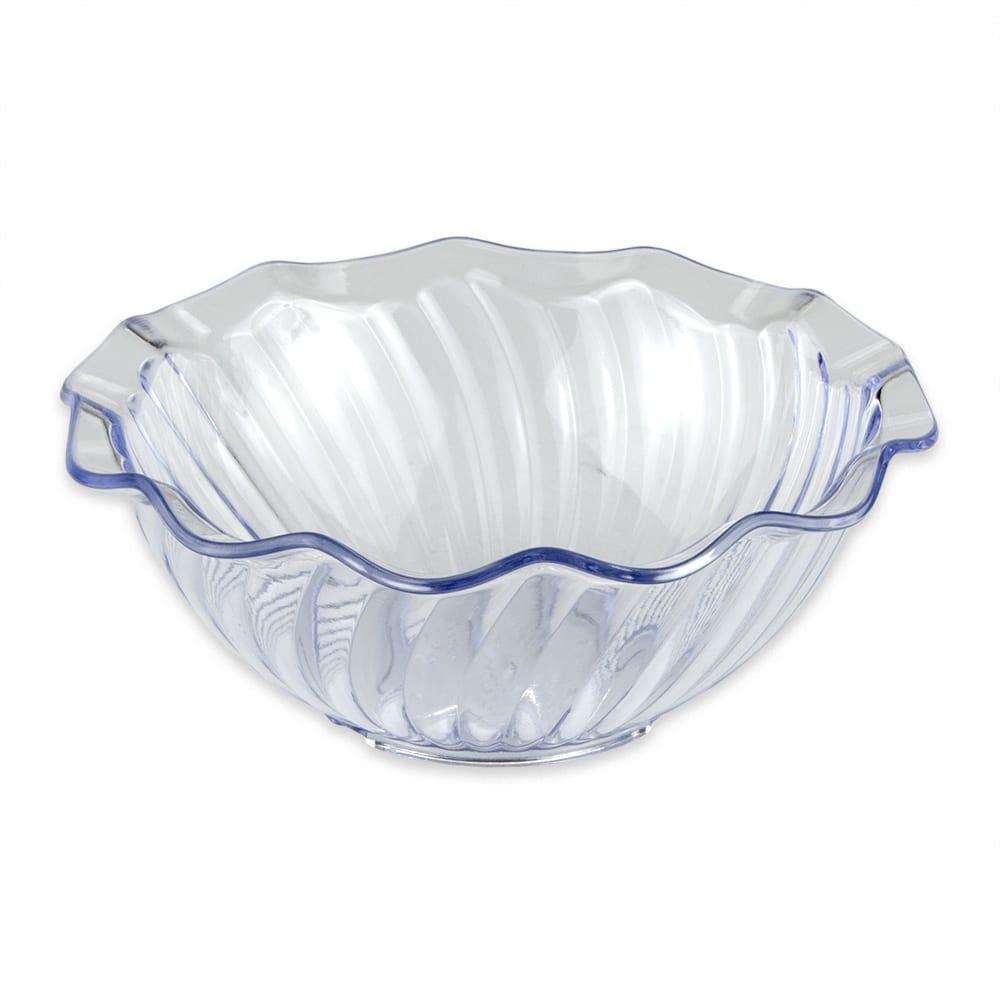 "GET DD-70-CL 5.5"" Round Dessert Dish w/ 12 oz Capacity, Plastic, Clear"