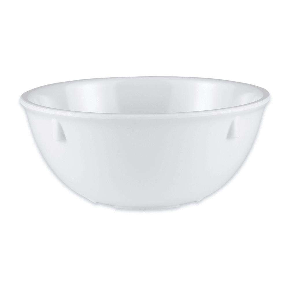 "GET DN-315-W 5.25"" Round Oatmeal Bowl w/ 15 oz Capacity, Melamine, White"