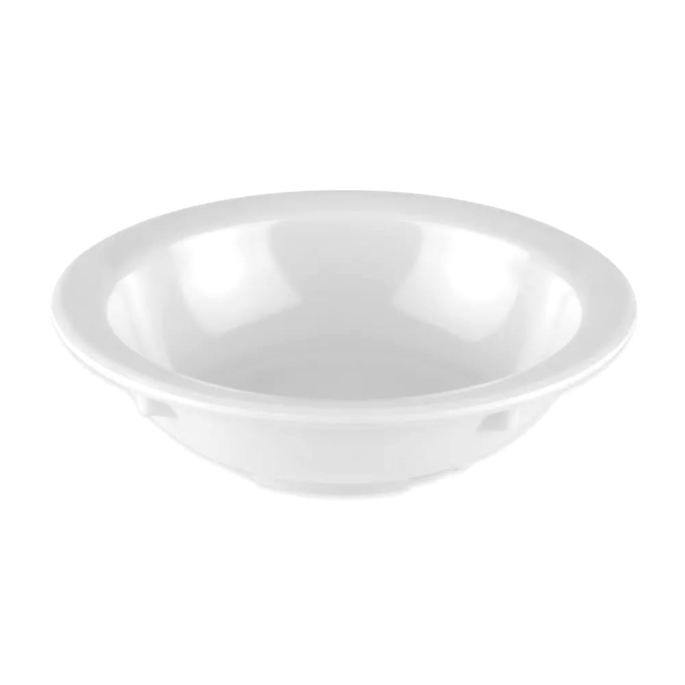 "GET DN-335-W 4.25"" Round Fruit Bowl w/ 3.5 oz Capacity, Melamine, White"