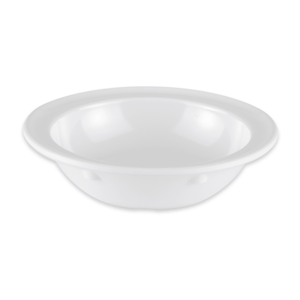 "GET DN-350-W 4.75"" Round Fruit Bowl w/ 5-oz Capacity, Melamine, White"