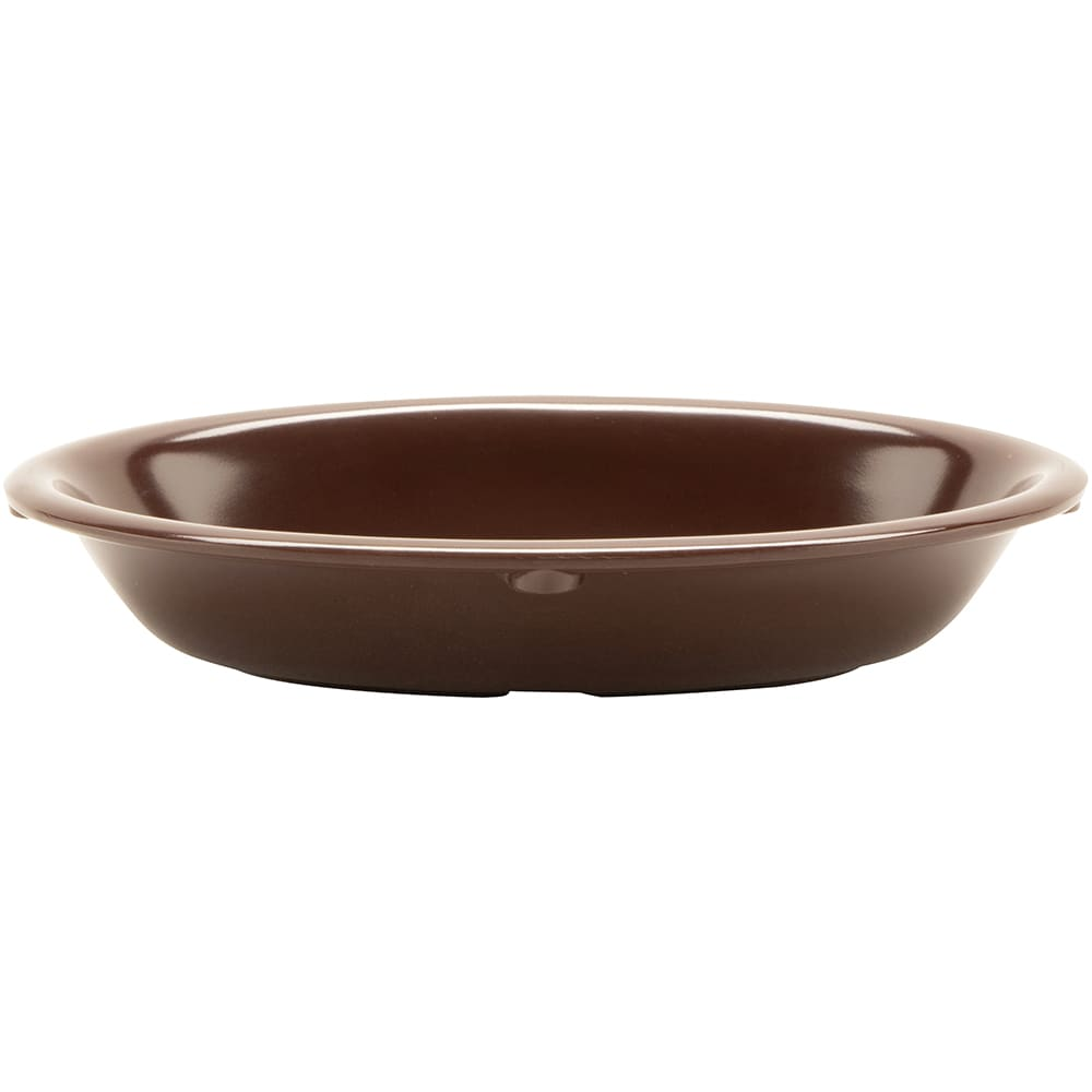 "GET DN-365-BR Oval Side Dish w/ 5 oz Capacity, 6"" x 4.5"", Melamine, Brown"