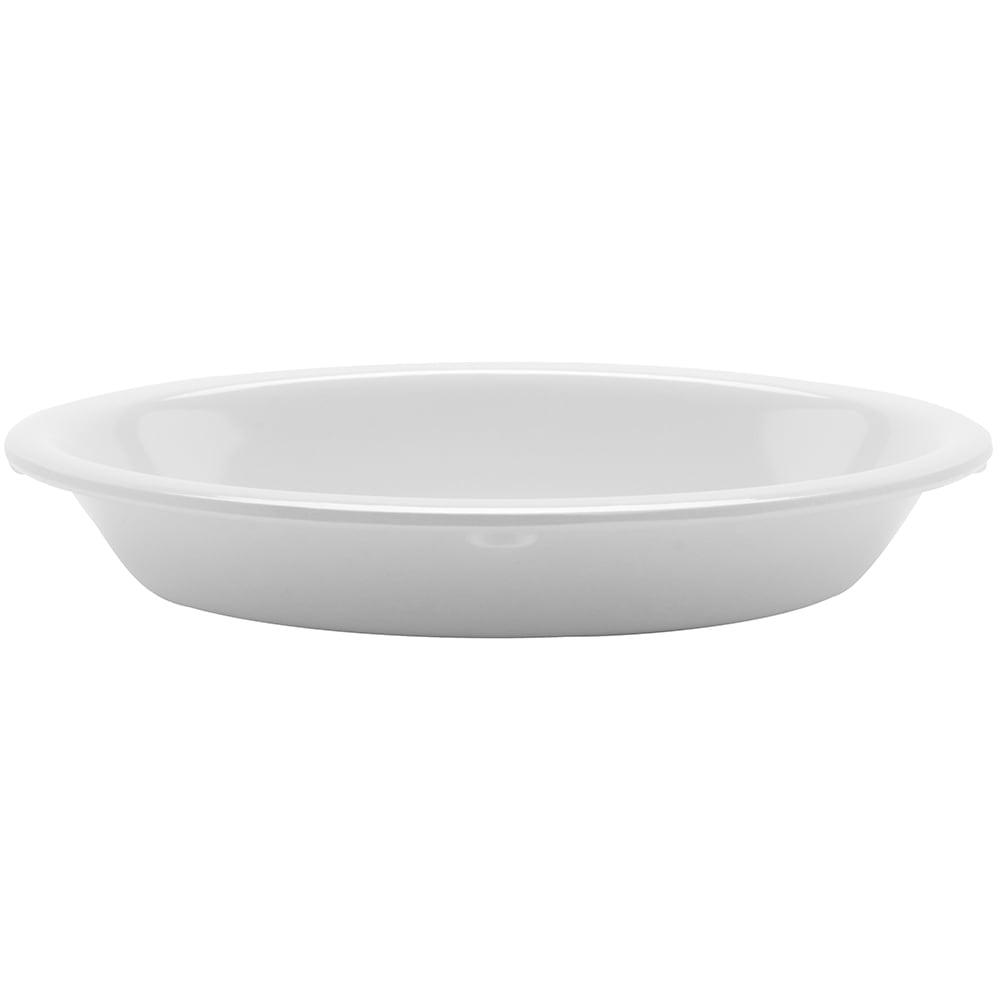 "GET DN-365-W Oval Side Dish w/ 5-oz Capacity, 6"" x 4.5"", Melamine, White"
