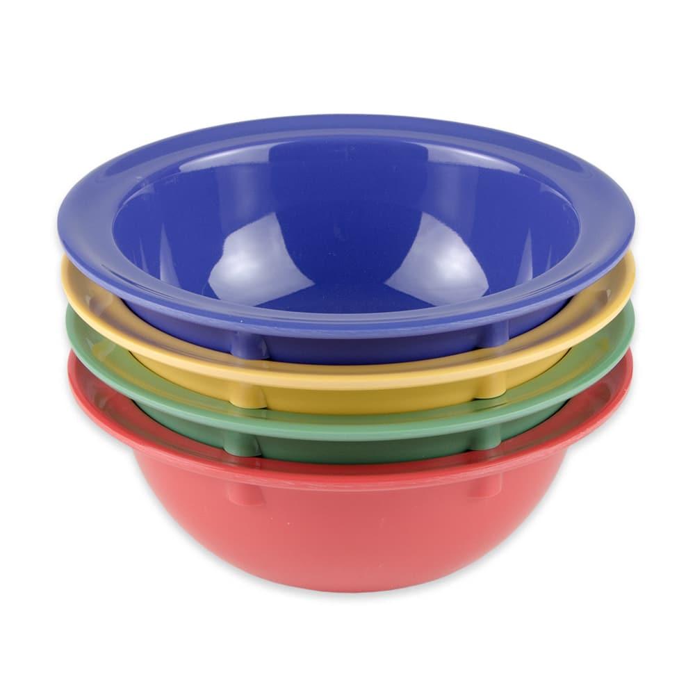 "GET DN-902-MIX (4) 5.75"" Round Grapefruit Bowl w/ 13-oz Capacity, Melamine, Multi-Colored"