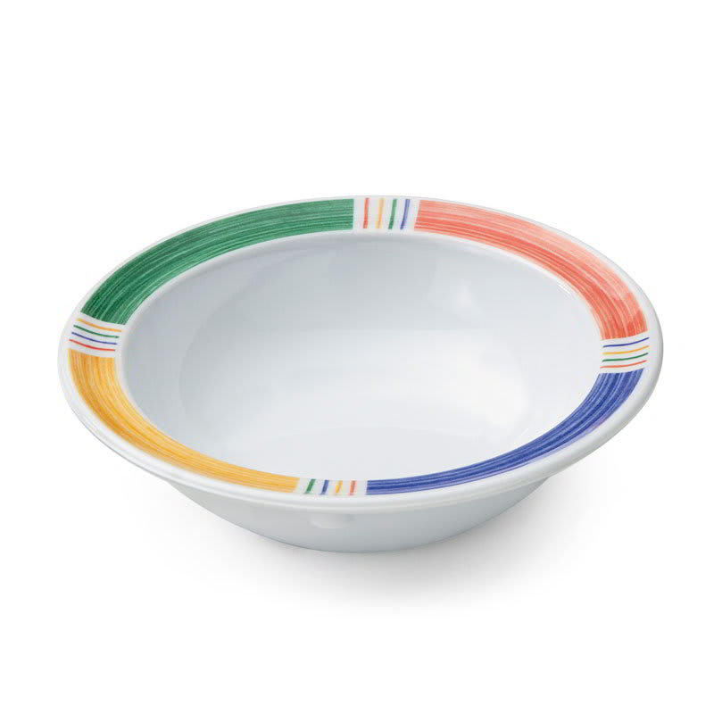 "GET DN-904-BA 4.75"" Round Fruit Bowl w/ 5 oz Capacity, Melamine, White"