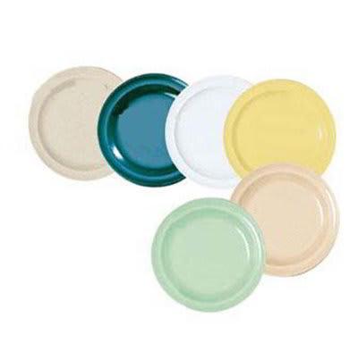 "GET DP-505-HG 5-1/2""Bread & Butter Plastic Plate, Hunter Green, Supermel"