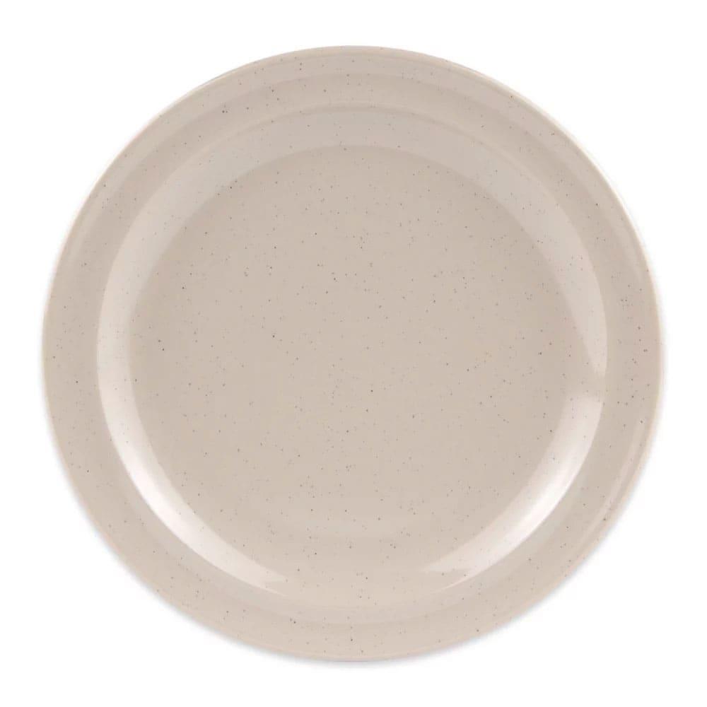 """GET DP-505-S 5.5"""" Round Bread & Butter Plate, Melamine, Sandstone"""