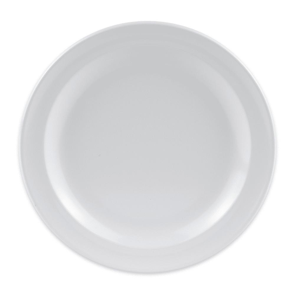 """GET DP-505-W 5.5"""" Round Bread & Butter Plate, Melamine, White"""