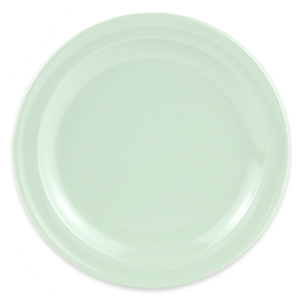 """GET DP-506-G 6.5"""" Round Salad Plate, Melamine, Green"""