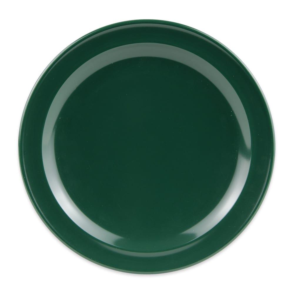 "GET DP-506-HG 6.5"" Round Salad Plate, Melamine, Green"