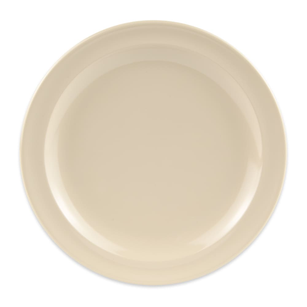 "GET DP-506-T 6.5"" Round Salad Plate, Melamine, Tan"