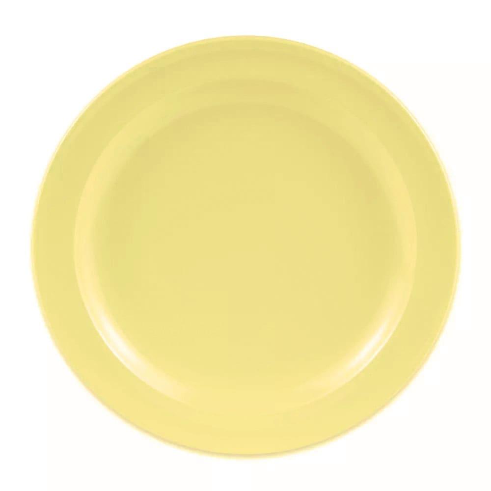 "GET DP-506-Y 6.5"" Round Salad Plate, Melamine, Yellow"