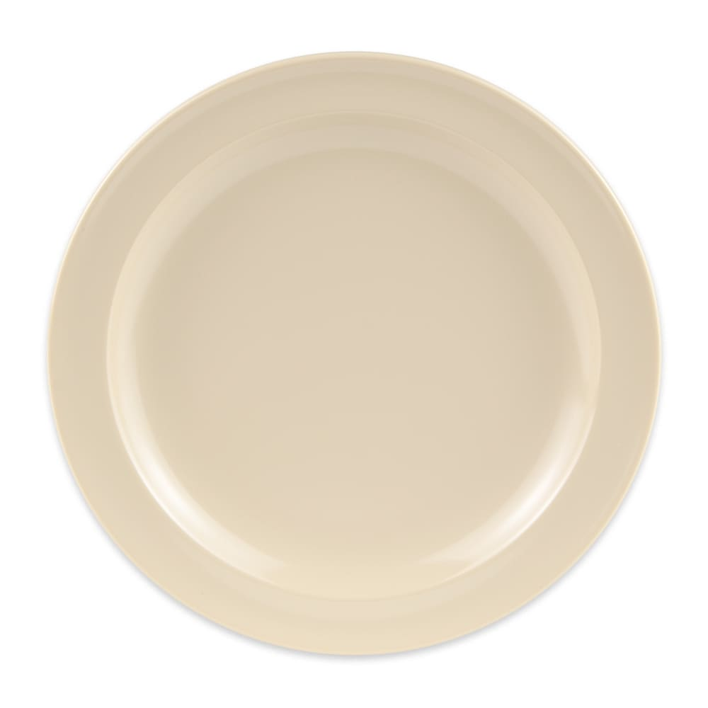 """GET DP-507-T 7.25"""" Round Dessert Plate, Melamine, Tan"""