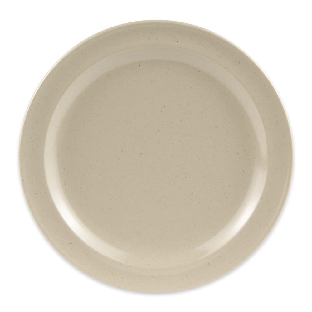 """GET DP-508-S 8"""" Round Lunch Plate, Melamine, Sandstone"""