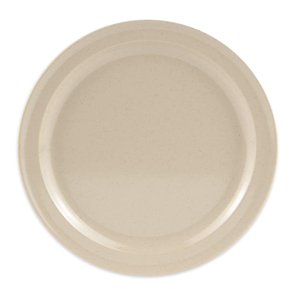 """GET DP-509-S 9"""" Round Dinner Plate, Melamine, Sandstone"""