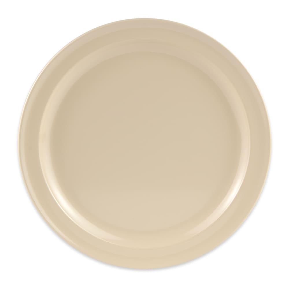 "GET DP-509-T 9"" Round Dinner Plate, Melamine, Tan"