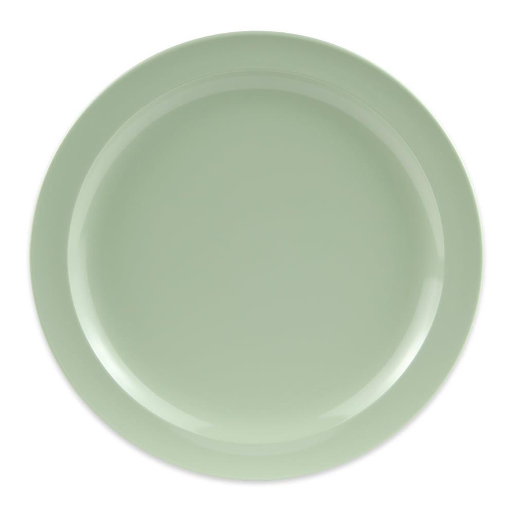 """GET DP-510-G 10.25"""" Round Dinner Plate, Melamine, Green"""
