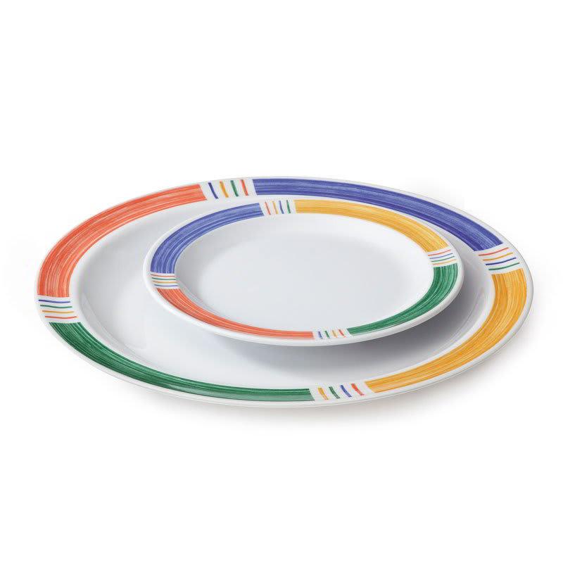 """GET DP-906-BA 6.5"""" Round Salad Plate, Melamine, White"""