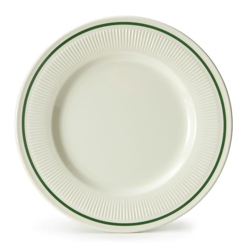 """GET E-10-K 10.25"""" Round Dinner Plate, Melamine, Ivory"""