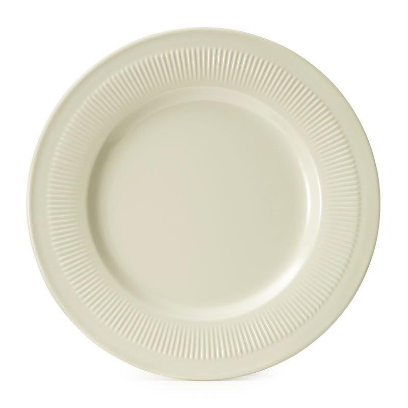 "GET E-10-P 10.25"" Round Dinner Plate, Melamine, Ivory"