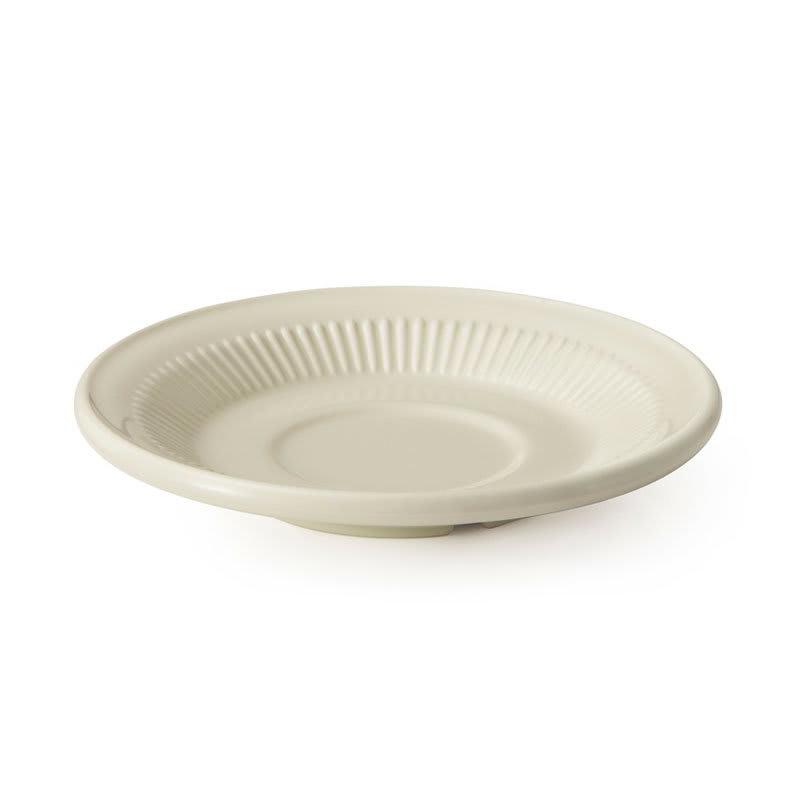 """GET E-2-P 5.5"""" Round Saucer, Melamine, Ivory"""