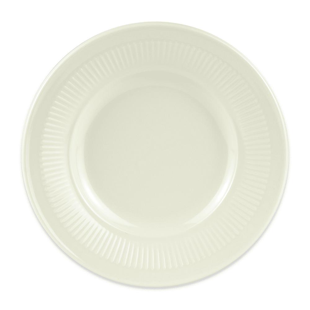 """GET E-6-P 6.5"""" Round Salad Plate, Melamine, Ivory"""