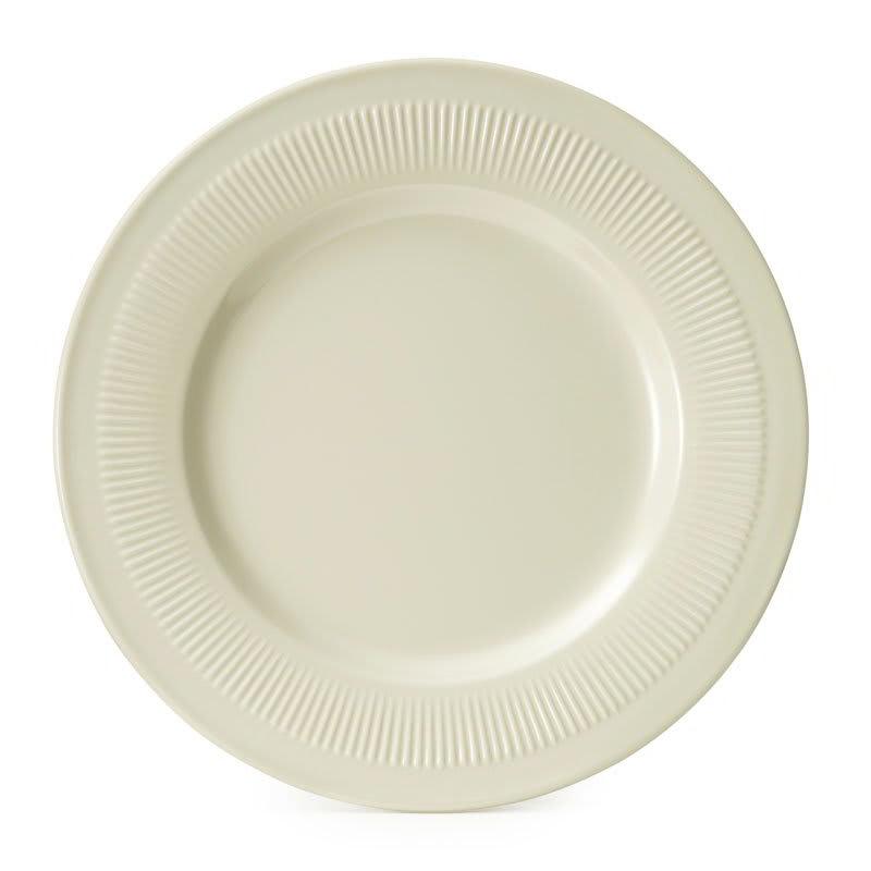 """GET E-7-P 7.25"""" Round Salad Plate, Melamine, Ivory"""