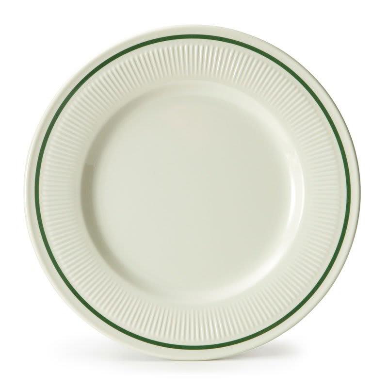 """GET E-9-K 9.25"""" Round Dinner Plate, Melamine, Ivory"""