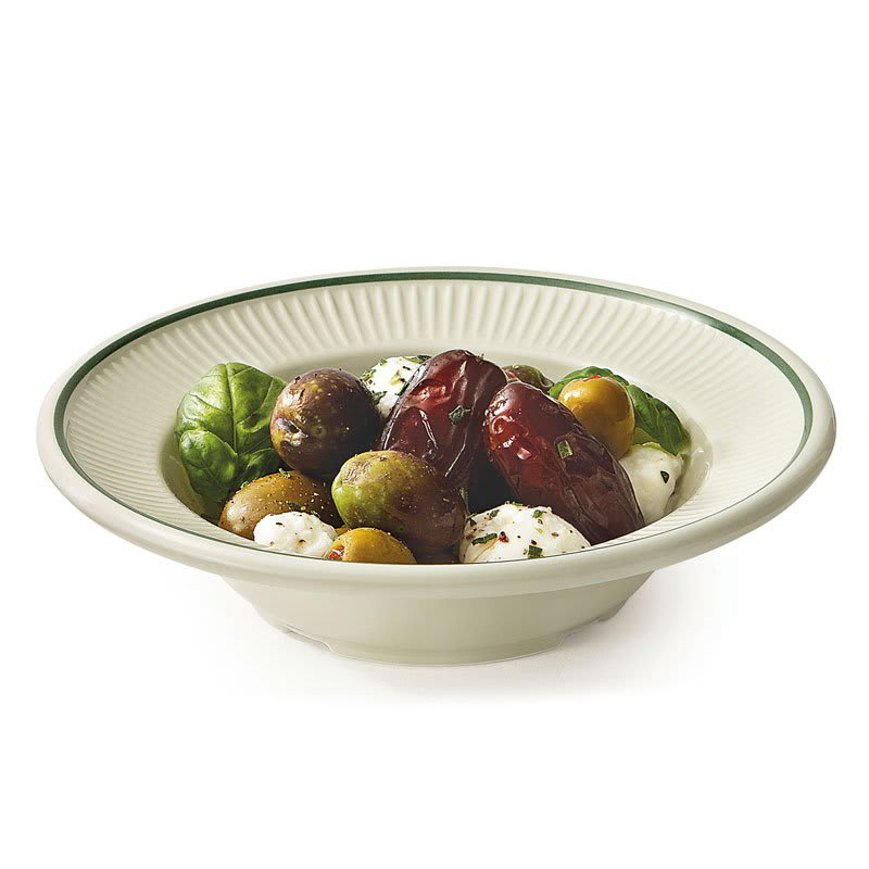 "GET EB-013-K 6.5"" Round Grapefruit Bowl /w 8-oz Capacity, Melamine, Ivory"