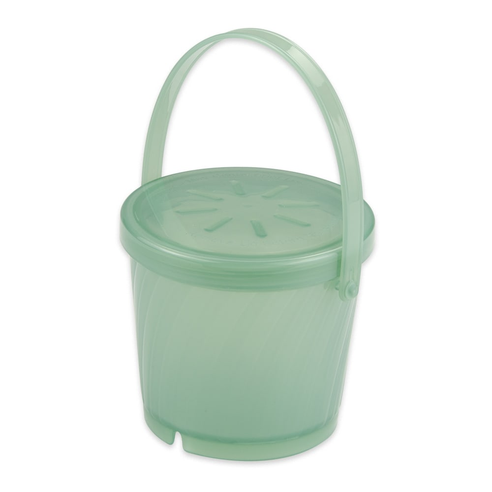 "GET EC-13-1-JA 4.25"" Round To Go Food Container w/ 16 oz Capacity, Polypropylene, Jade"