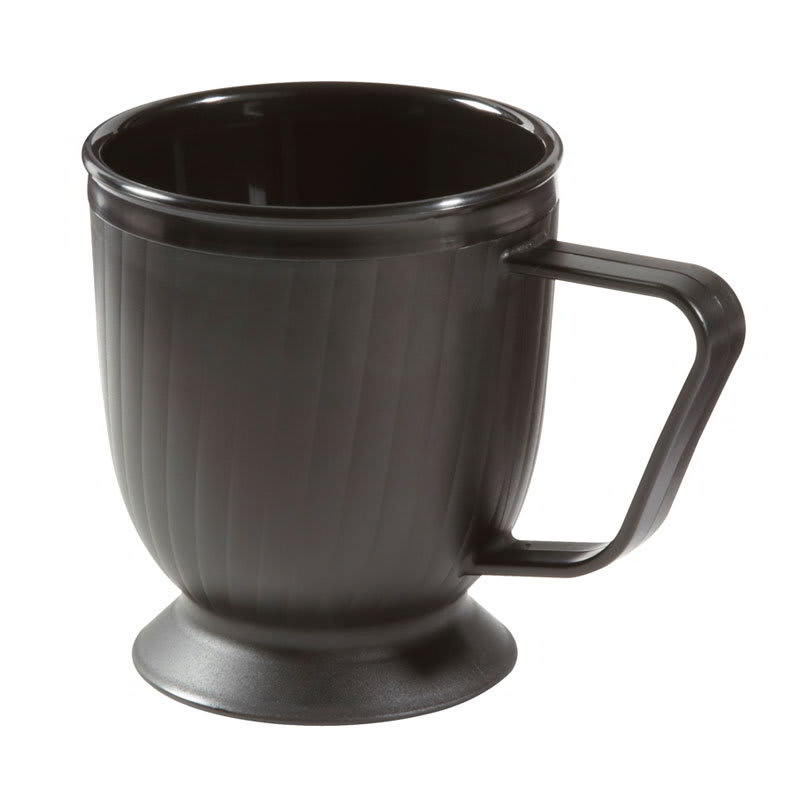 GET HCR-95-BK 8-oz Coffee Mug, Polypropylene, Black