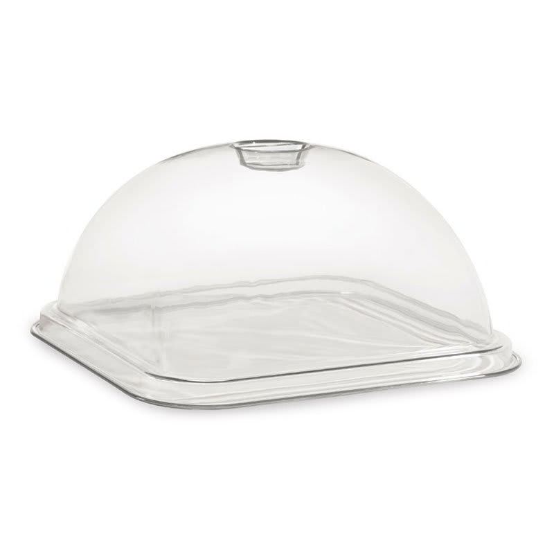 """GET HI-2012-CL Dome Cover for 12"""" Square Plate, Clear"""