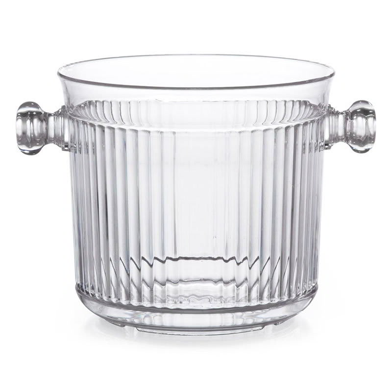 GET HI-2015-CL 2.5-qt Ice Bucket Only, Polycarbonate, Clear