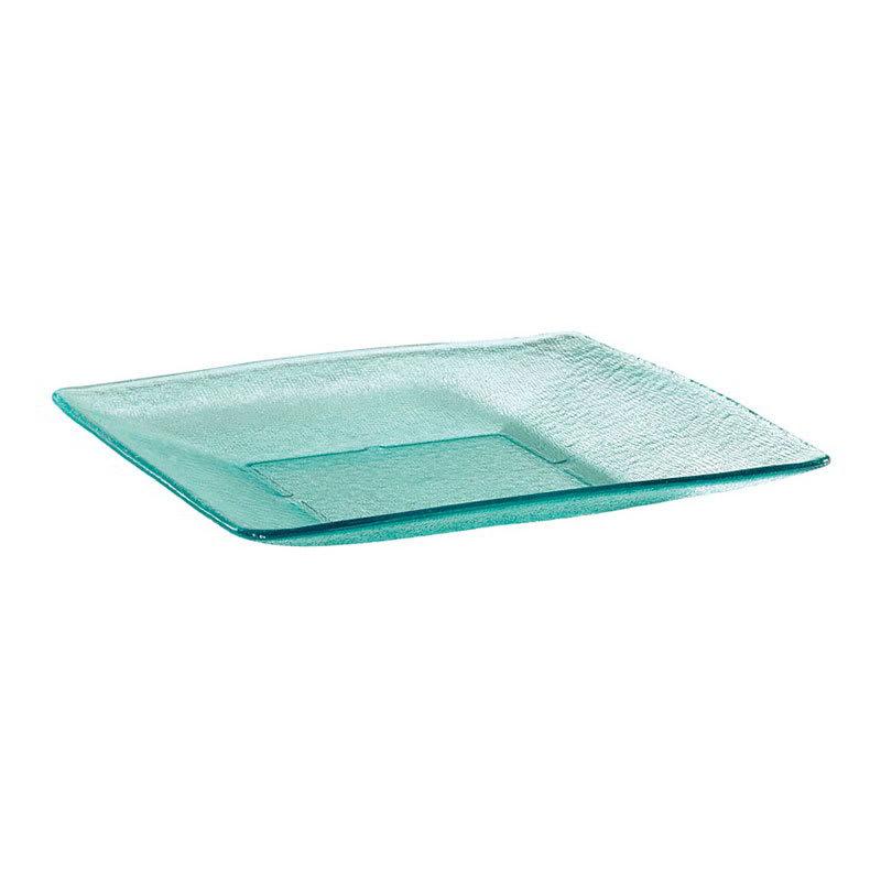 "GET HI-2017-JA 14.5"" Square Dinner Plate, Polycarbonate, Jade"