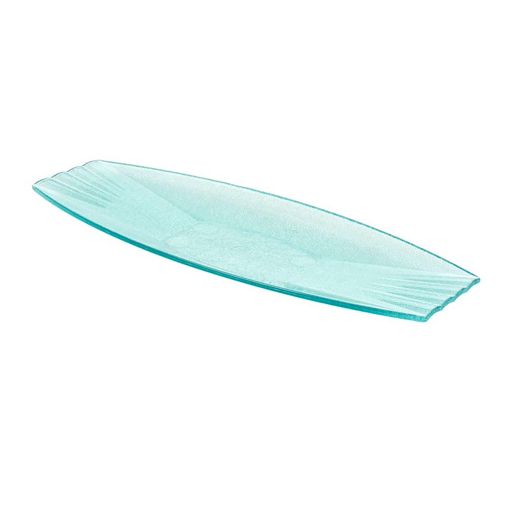 """GET HI-2032-JA Oval Serving Platter, 22.5"""" x 9"""", Polycarbonate, Jade"""