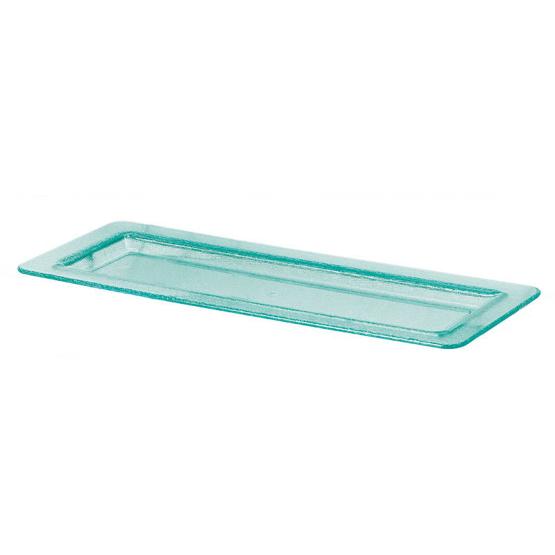 "GET HI-2260-JA Rectangular Display Tray for MTS-034, 21.5"" x 8.25"", Polycarbonate, Jade"