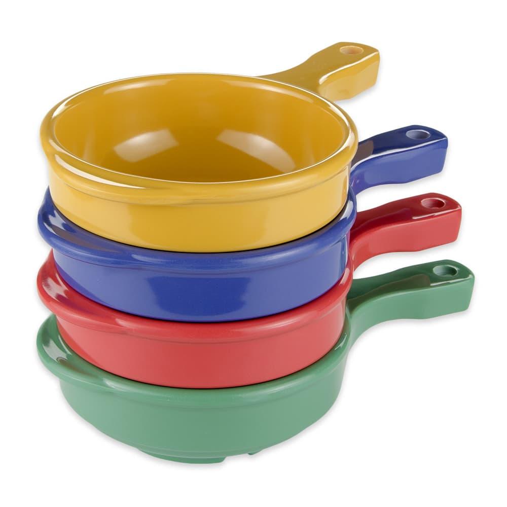 "GET HSB-112-MIX (4) 5.25"" Round Soup Bowl w/ 12-oz Capacity, Melamine, Multi-Colored"