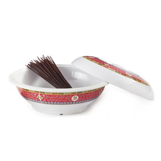 "GET KT-050-L 10"" Round Pasta Bowl w/ 70 oz Capacity, Melamine, White"
