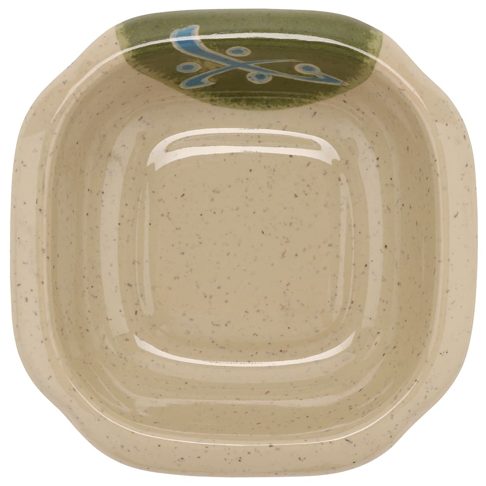"GET M-150-12-TD Rectangular Side Dish, 4.75"" x 3.5"", Melamine, Brown"