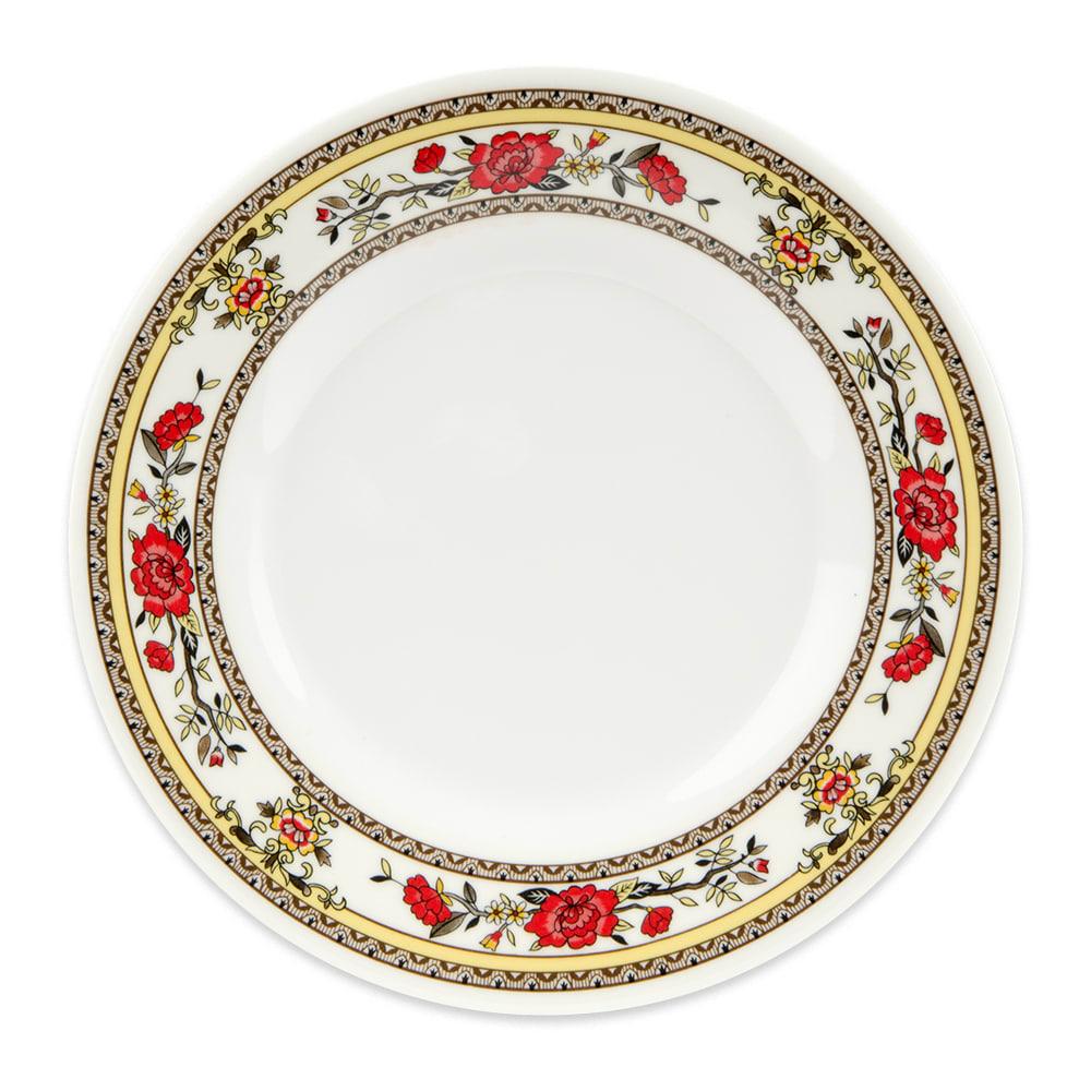 """GET M-412-CG 6"""" Round Bread Plate, Melamine, White"""