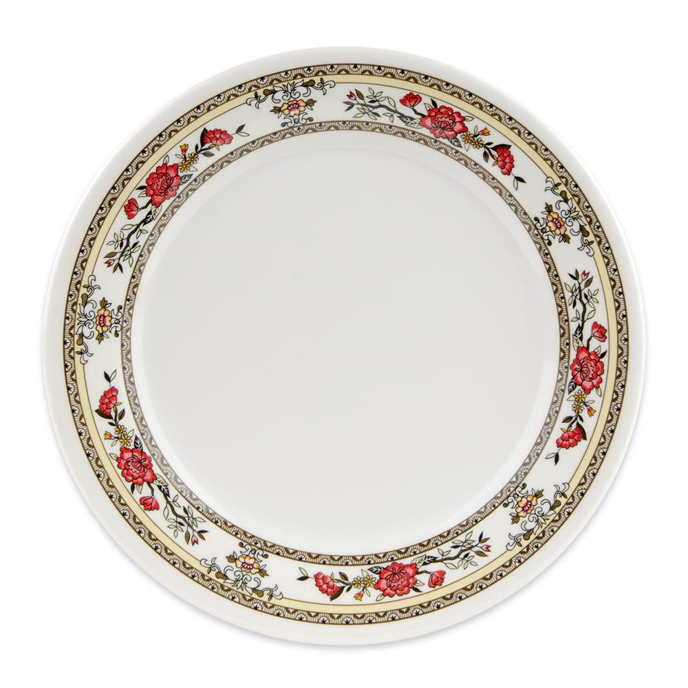 """GET M-5050-CG 8"""" Round Salad Plate, Melamine, White"""