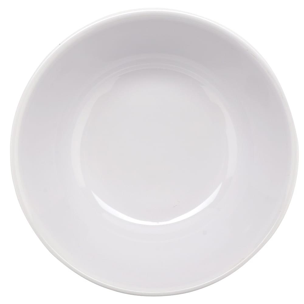 "GET M-607-B 6.75"" Round Pasta Bowl w/ 1-qt Capacity, Melamine, White"
