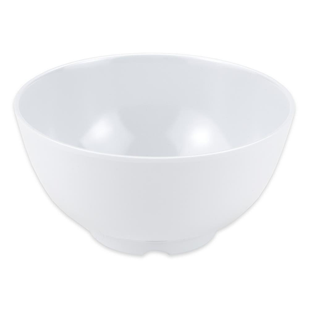 "GET M-706-W 5.75"" Round Rice Bowl w/ 24-oz Capacity, Melamine, White"